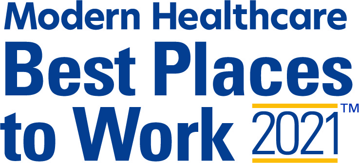 Modern Healthcare Best Places to Work 2021 logo