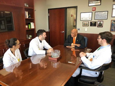 Physician Residents Visit Lansing for Graduate Medical Education Day