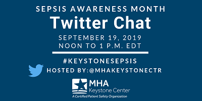 Twitter Chat Engages Members and Partner Organizations to Discuss Sepsis