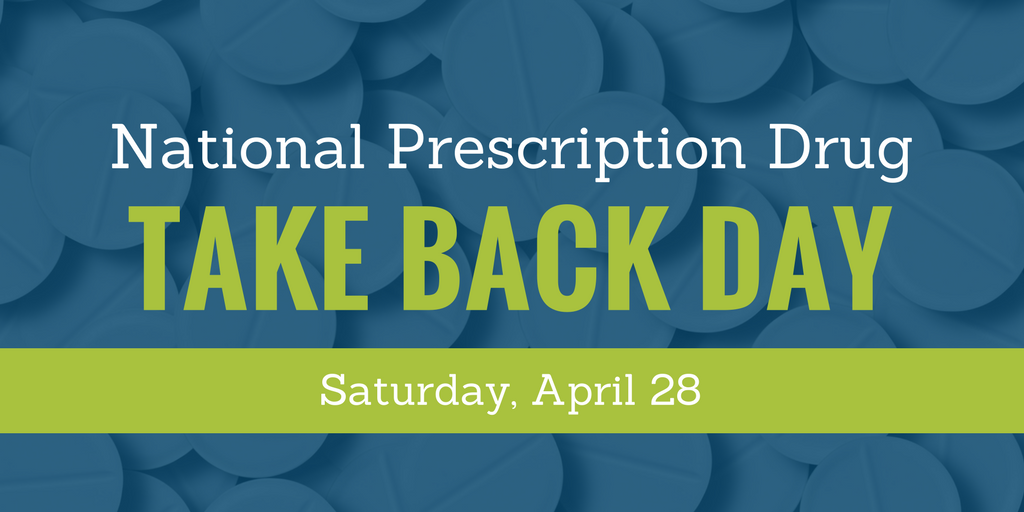 Help Tackle the Opioid Epidemic on National Prescription Drug Take Back Day