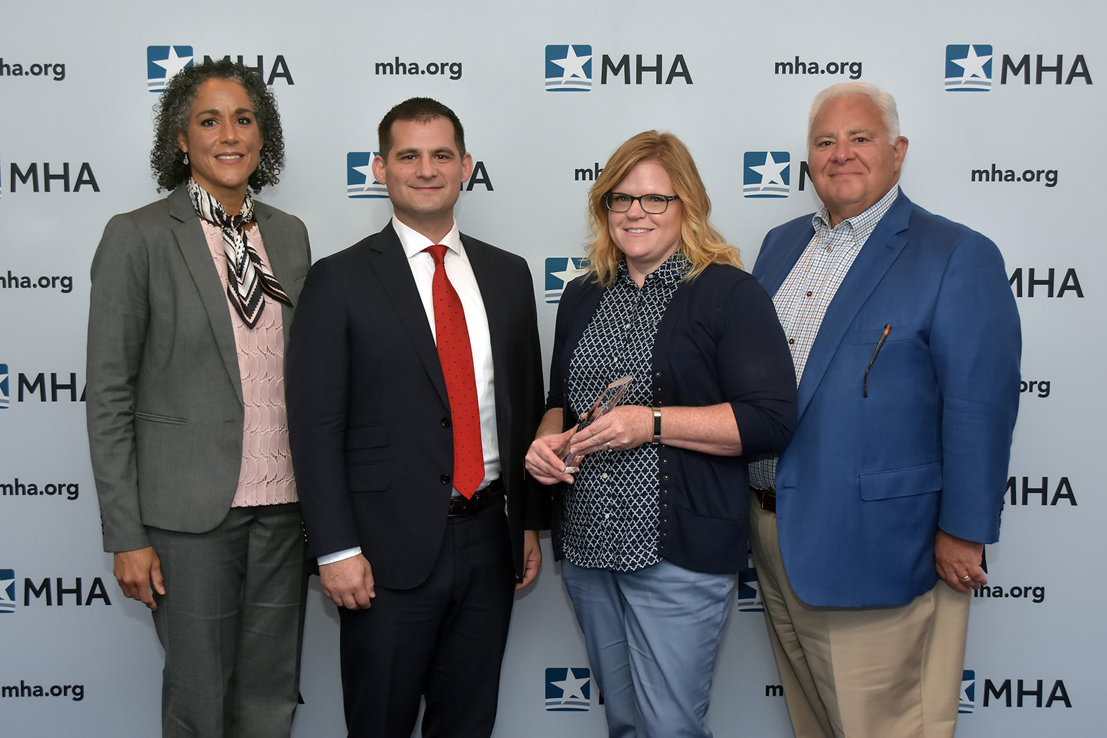 Members from Bronson Methodist Hospital, Kalamazoo, were presented with the 2019 Ludwig Community Benefit Award.