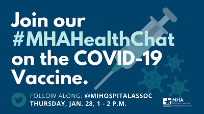 MHA Twitter Chat to Address COVID-19 Vaccine FAQs