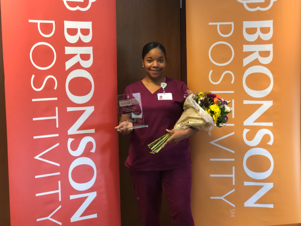 Bronson Battle Creek Employee Receives Award for Speaking Up for Patient's Safety
