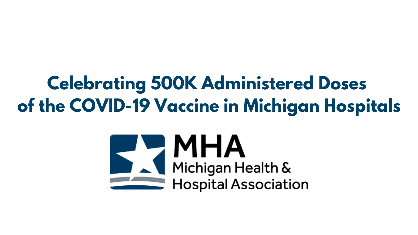 Michigan Hospitals Give More Than 500,000 COVID-19 Vaccines