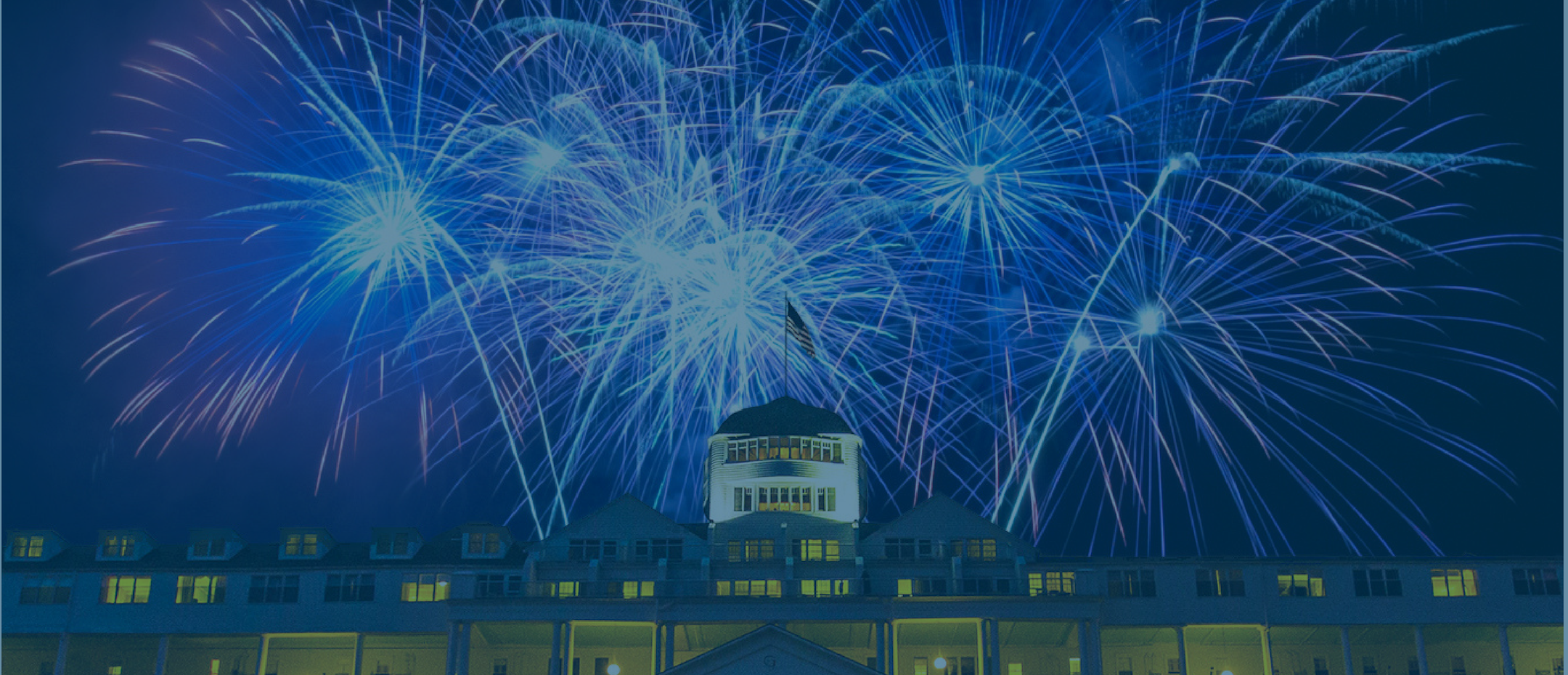 Fireworks over the Grand Hotel
